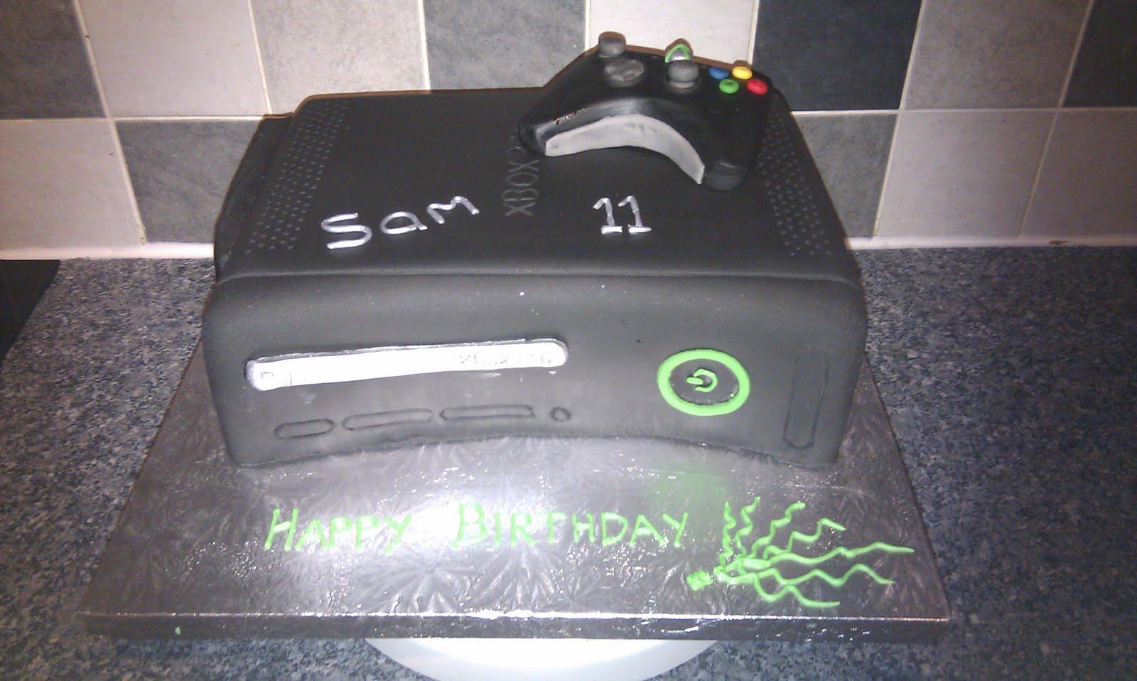 black xbox cakes - photo #14