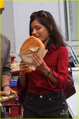 Freida Pinto Engaged