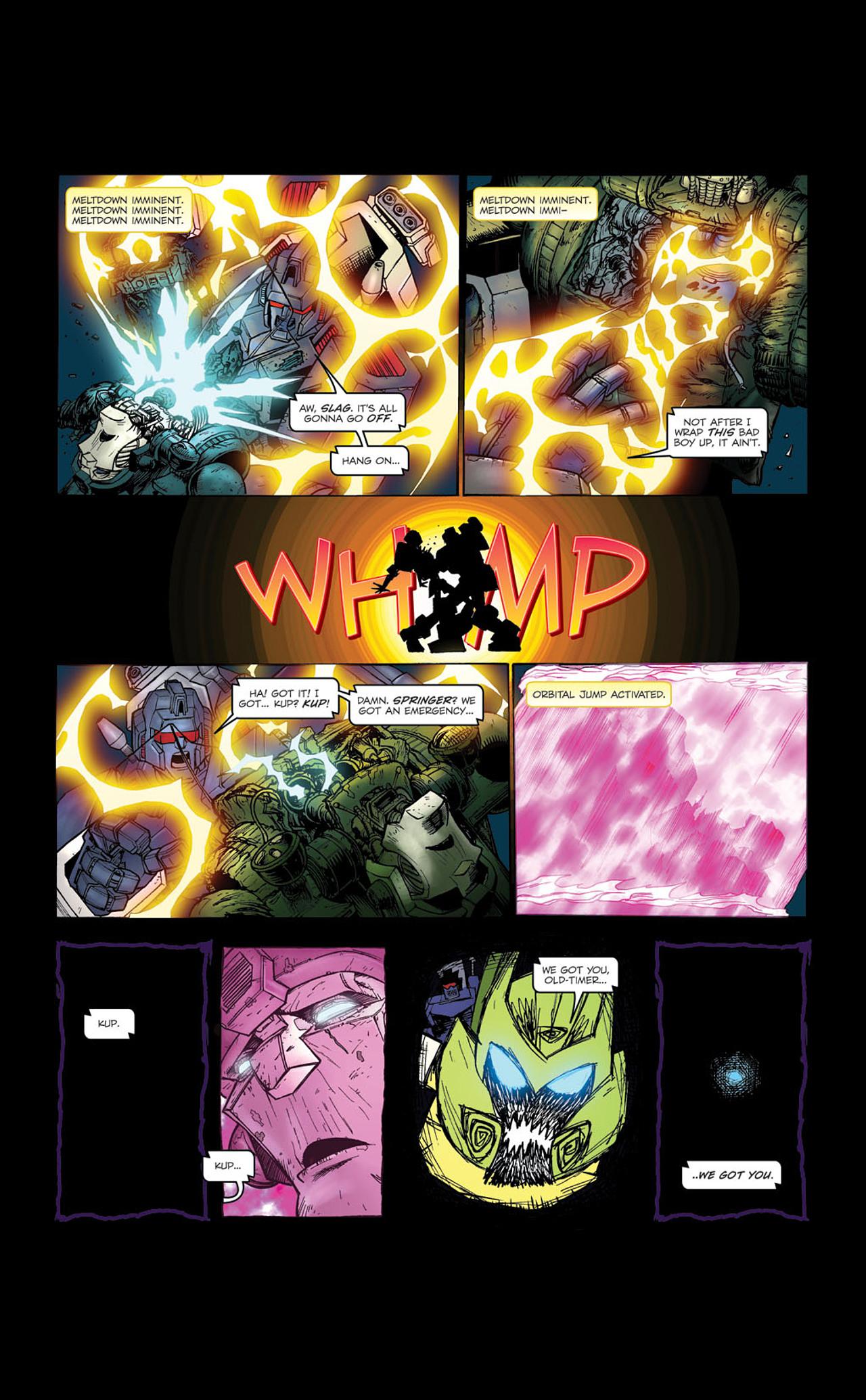 Read online Transformers Spotlight: Kup comic -  Issue # Full - 26