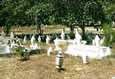 tanah kubur, kubur, gambar kubur, kubur yang sunyi
