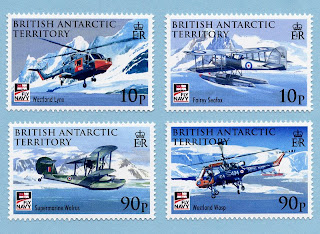 British Antarctic Territory 2009 - 100 Year of Naval Aviation