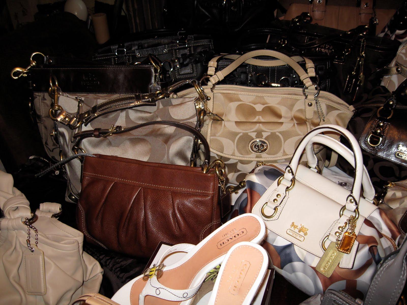 1cbc31625868 My Coach Handbag Collection  L - R - Coach Parker