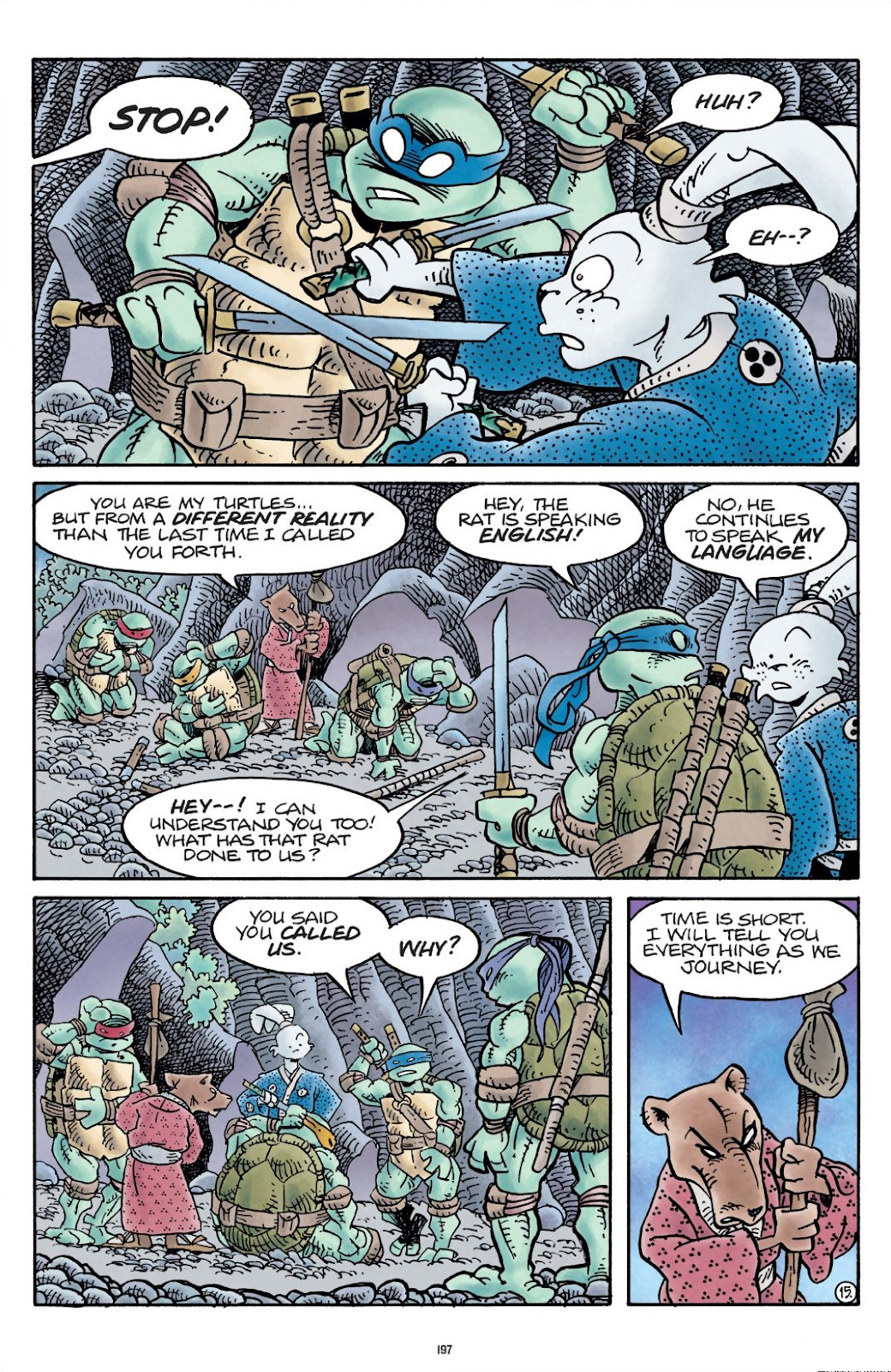 Read online Teenage Mutant Ninja Turtles: The IDW Collection comic -  Issue # TPB 9 (Part 2) - 96