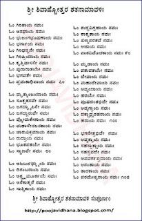 shiva sahasranama kannada pdf