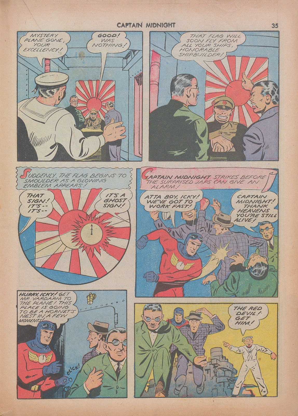 Captain Midnight (1942) issue 7 - Page 35