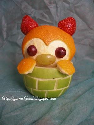 fruit display for children