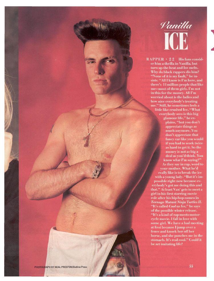 True answer vanilla ice nude something