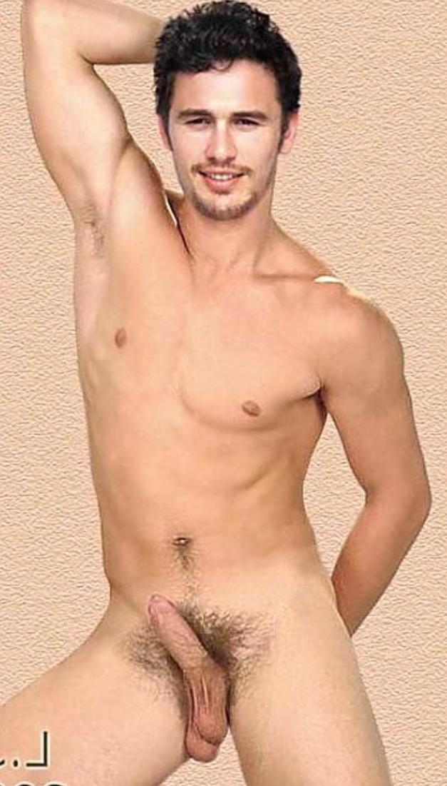 fakes naked James franco
