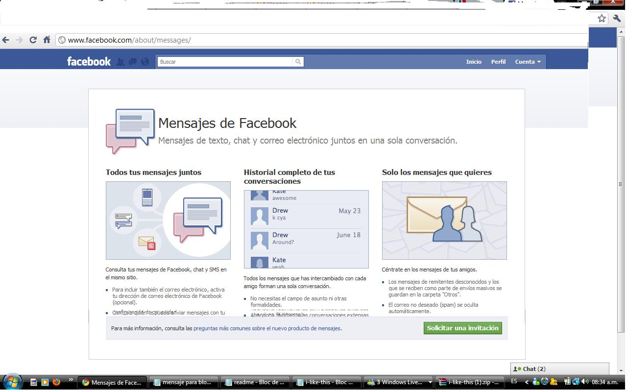 Facebook find friends browser