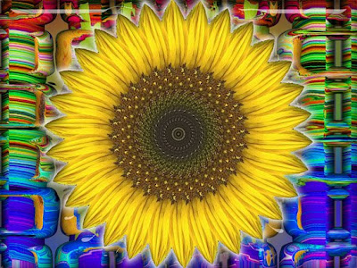 art166 digital sunflower cards