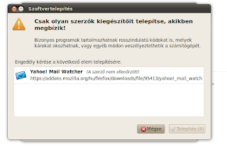 notifier yahoo mail linux