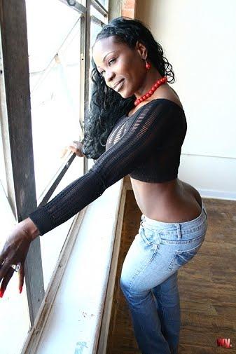 Black girls in tight shorts consider