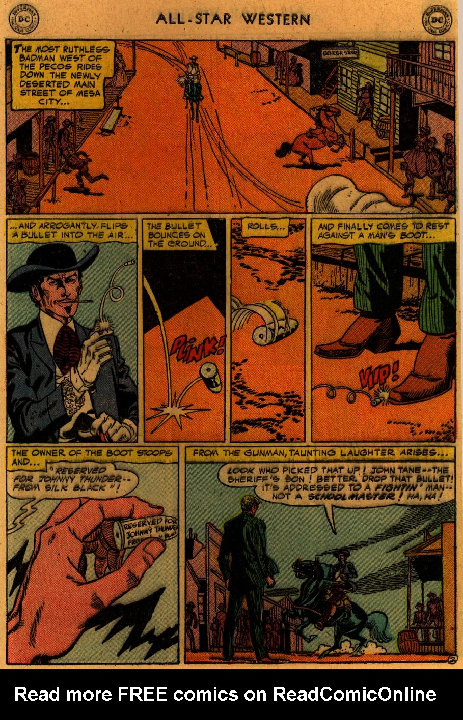 Read online All-Star Western (1951) comic -  Issue #89 - 30