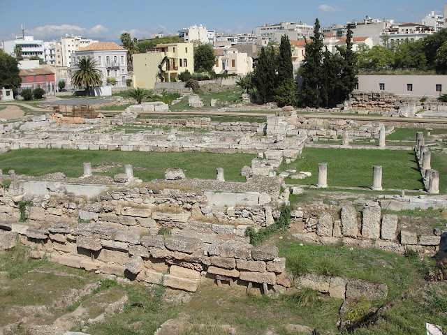 Ágora Antiga, Atenas.