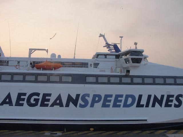 Aegean Speed Lines, Grécia.