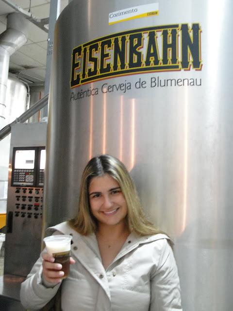 Cervejaria Eisenbahn, Blumenau.