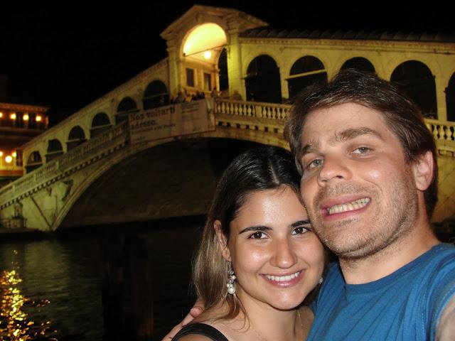 Ponte Rialto, Veneza, Itália.