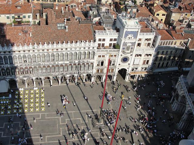 Piazza San Marco vista da Torre da Campanile, Veneza.