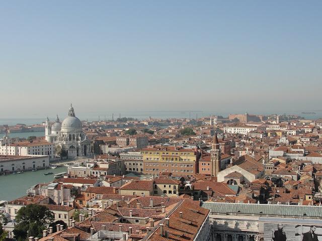 Veneza vista da Torre da Campanile de San Marco.