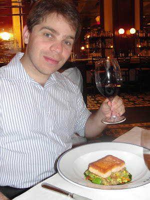 Salmão - Bouchon Bistro.