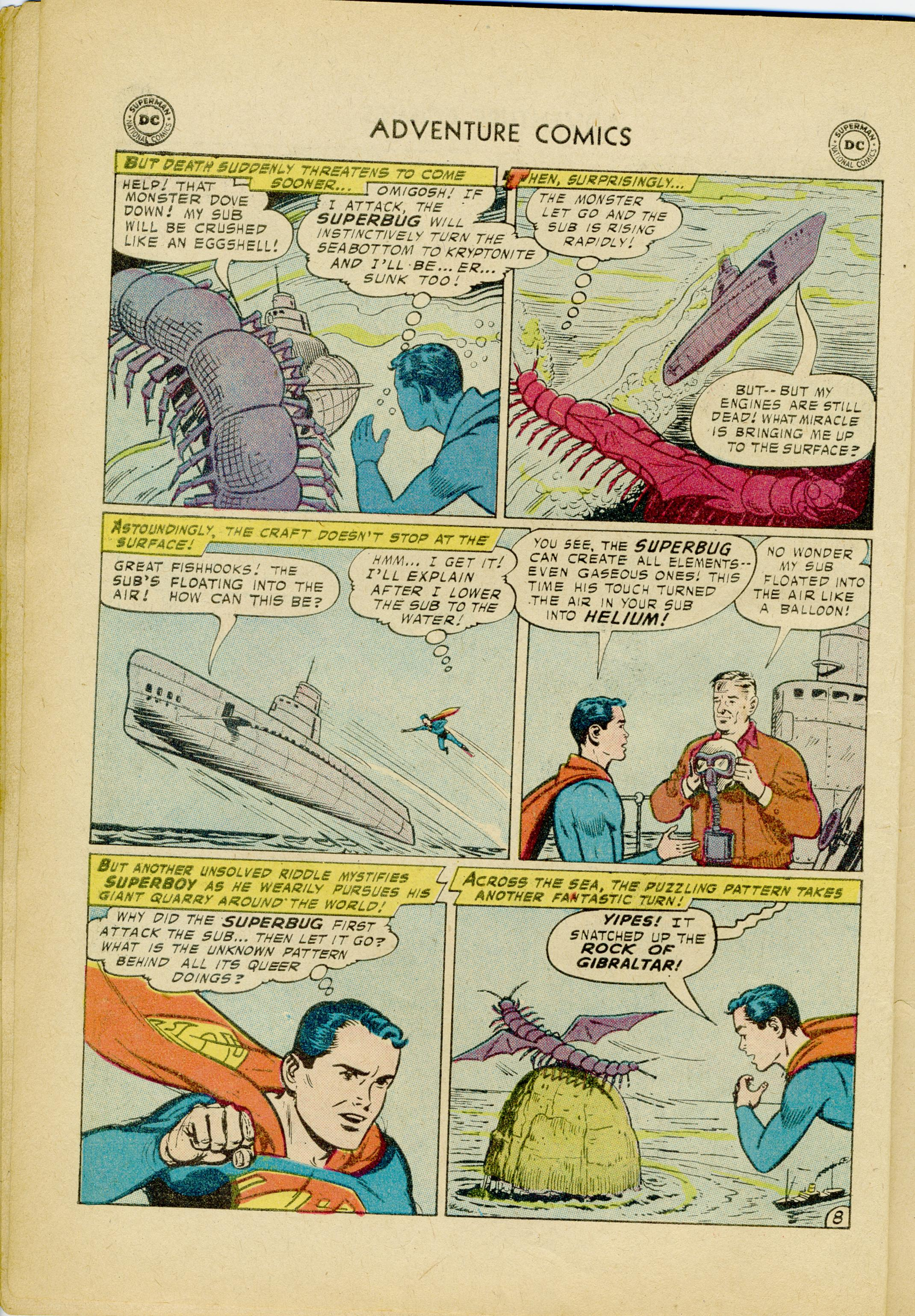Read online Adventure Comics (1938) comic -  Issue #245 - 10