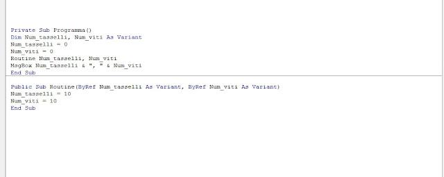 PicoCAD: VBA Autocad: Passaggio di parametri ByRef