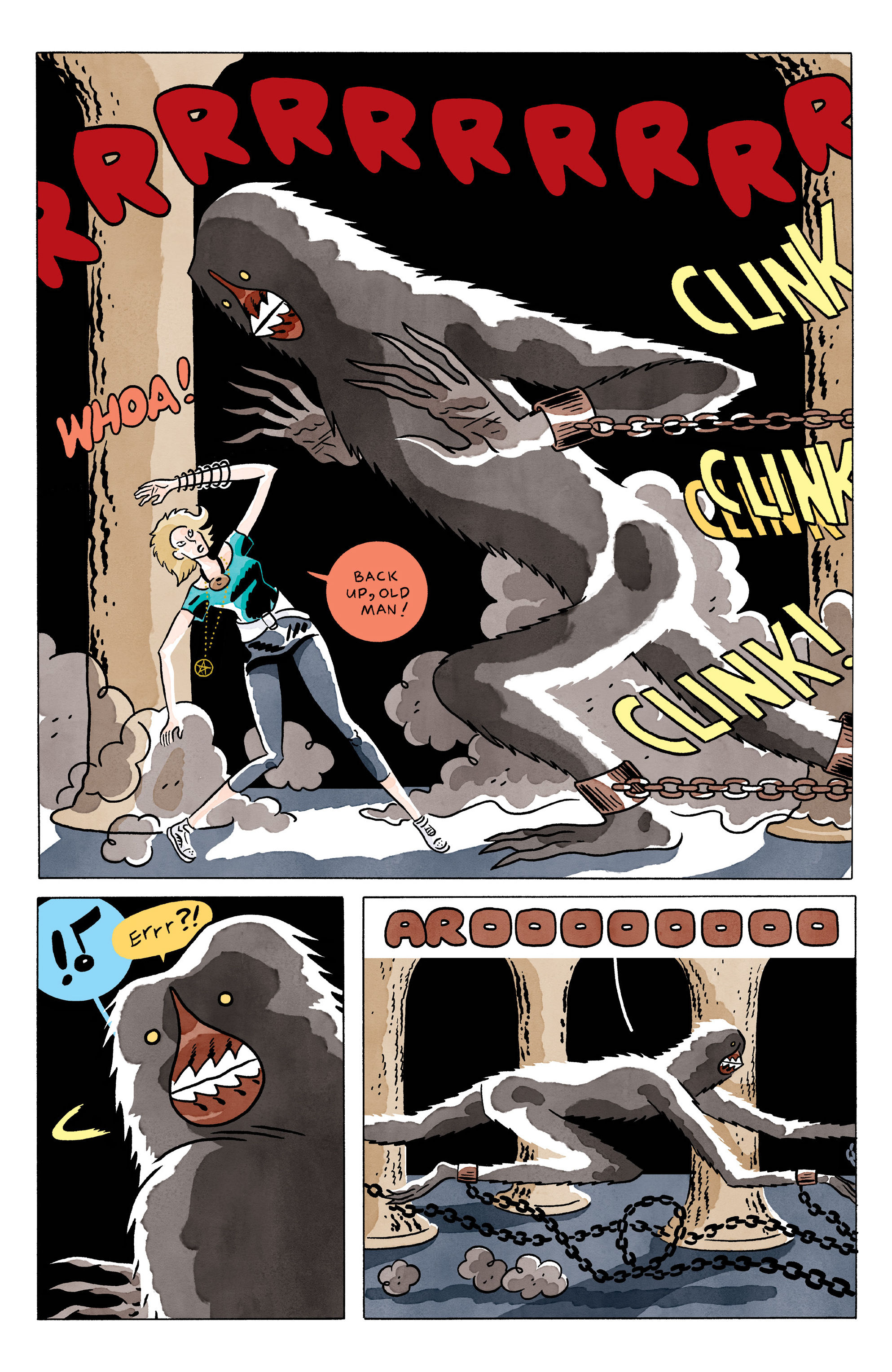 Read online She Wolf comic -  Issue #3 - 3