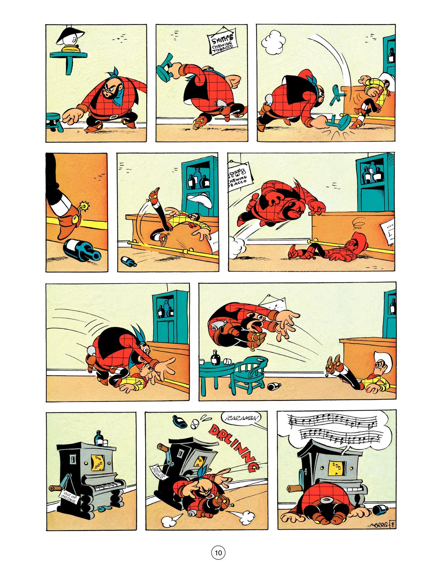 Read online A Lucky Luke Adventure comic -  Issue #55 - 10