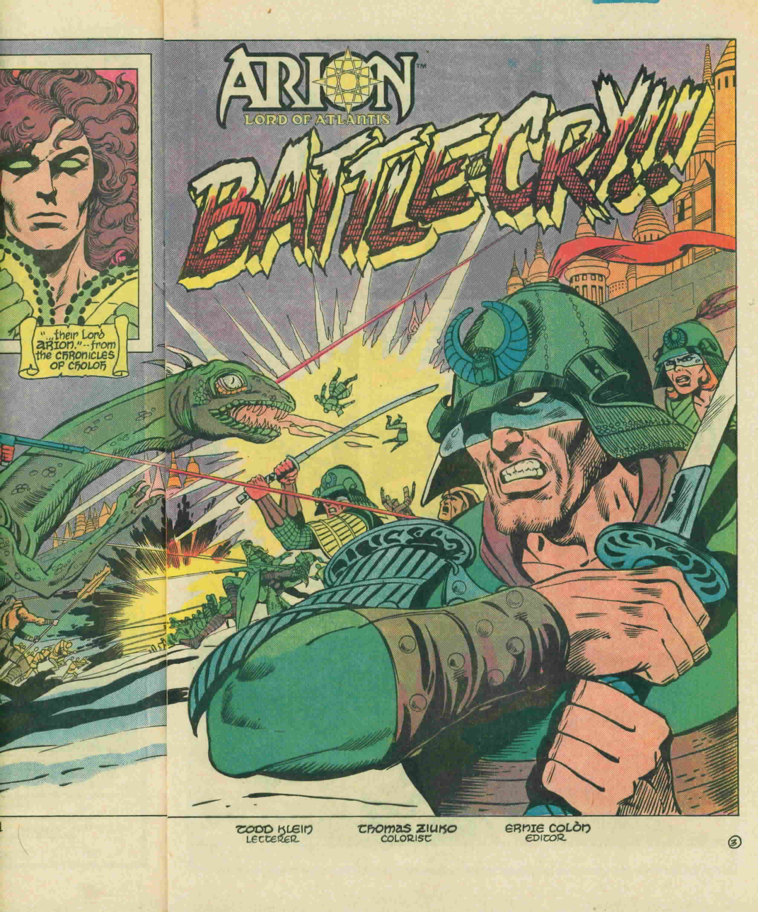 Read online Arion, Lord of Atlantis comic -  Issue #3 - 6