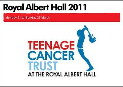 Teenage Cancer Trust Tickets