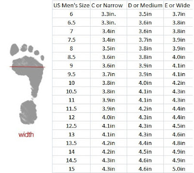what is wide shoe size