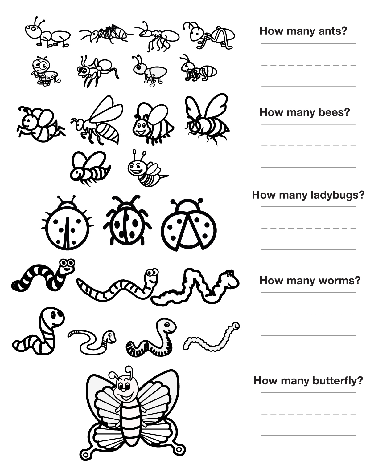 Other Graphical Works For Kids To Color And Count