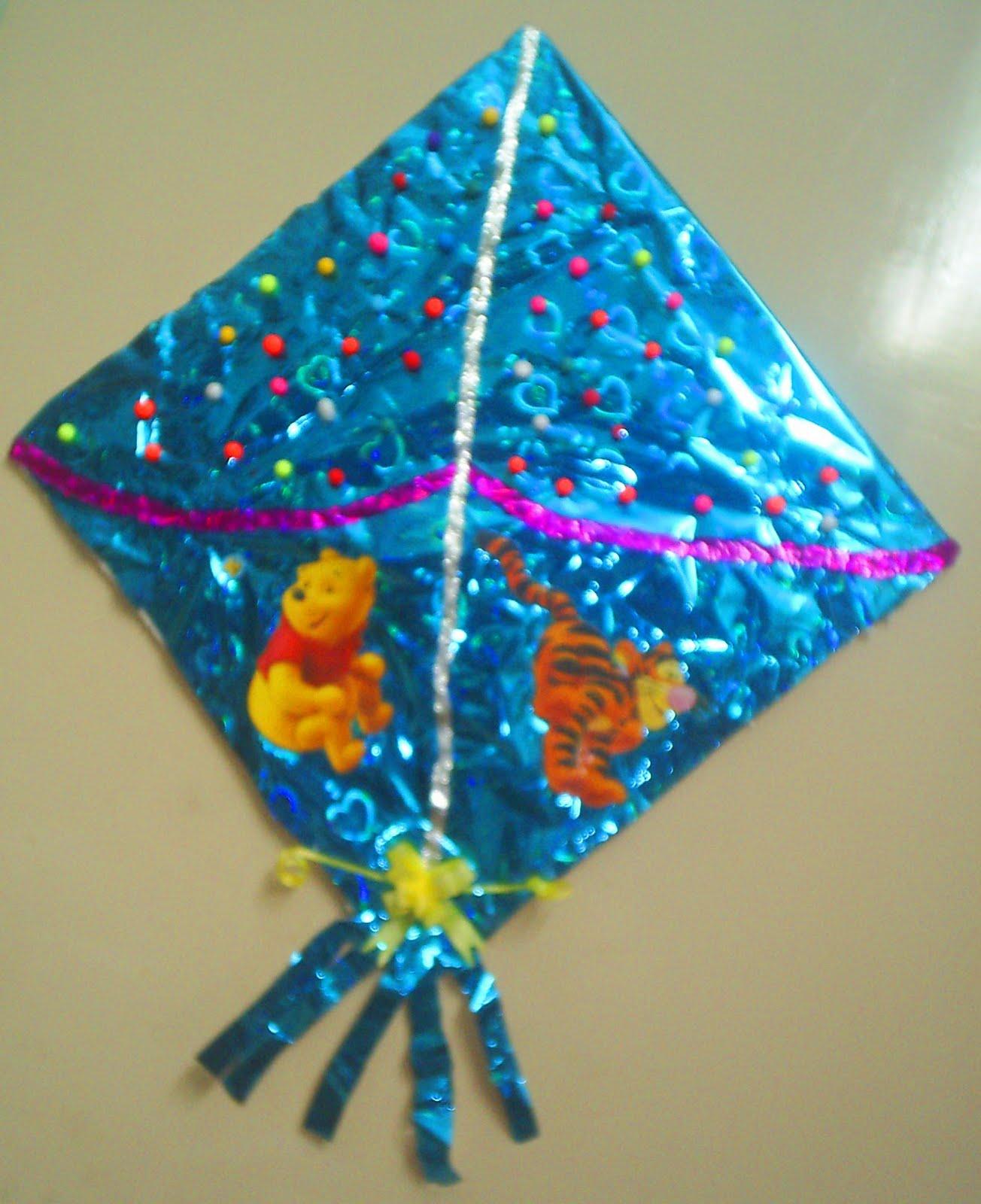 Colourful Imaginations Kite Sankranthi Craft