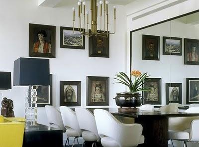 mirrored wall, mirror room, switcheroom