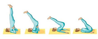 yoga stretches shoulder stand