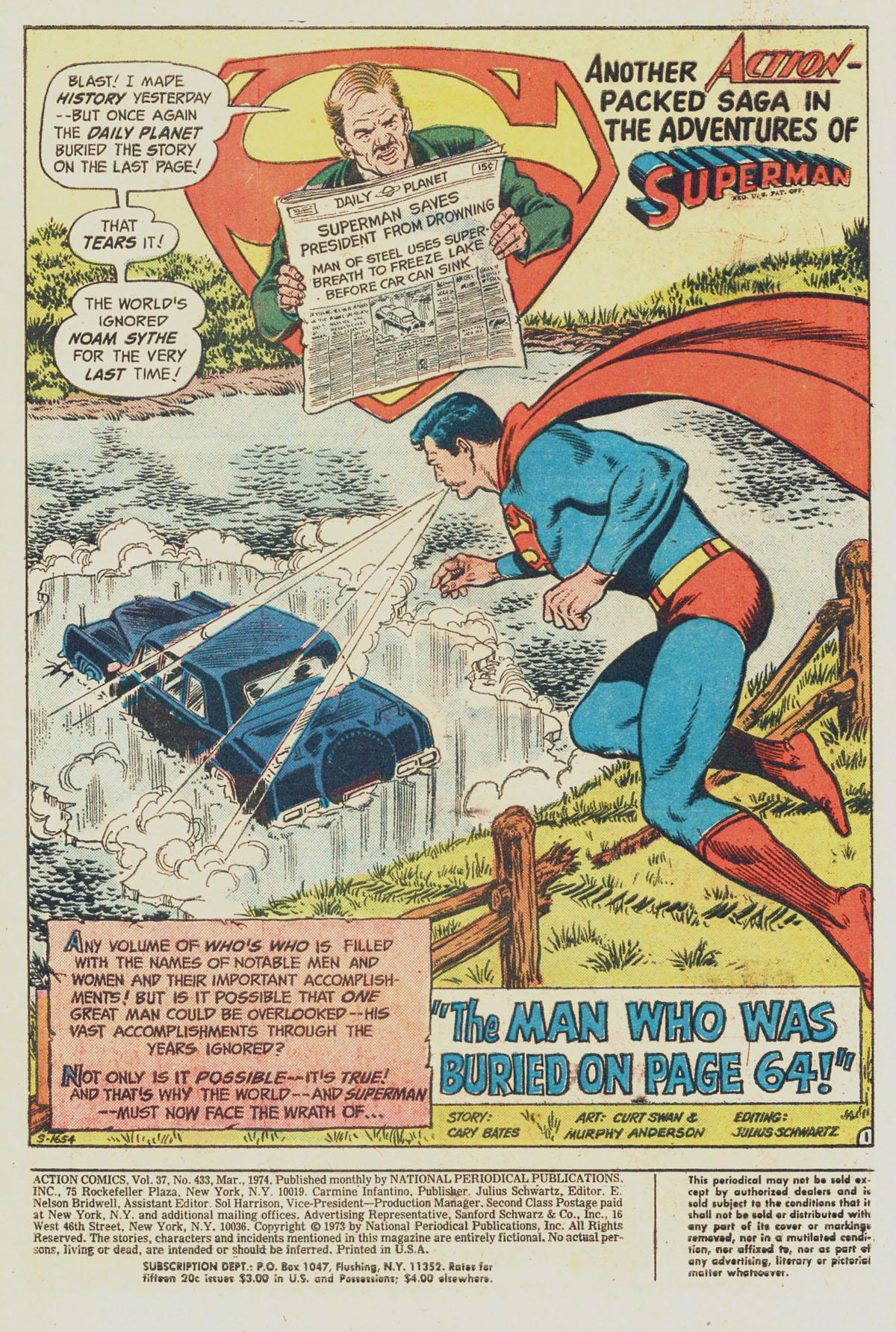 Action Comics (1938) 433 Page 2