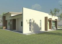 Khalid Rahman Design 3 Bedroom Bathroom Single Storey
