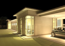Khalid Rahman Design Narrow Lot Single Storey House