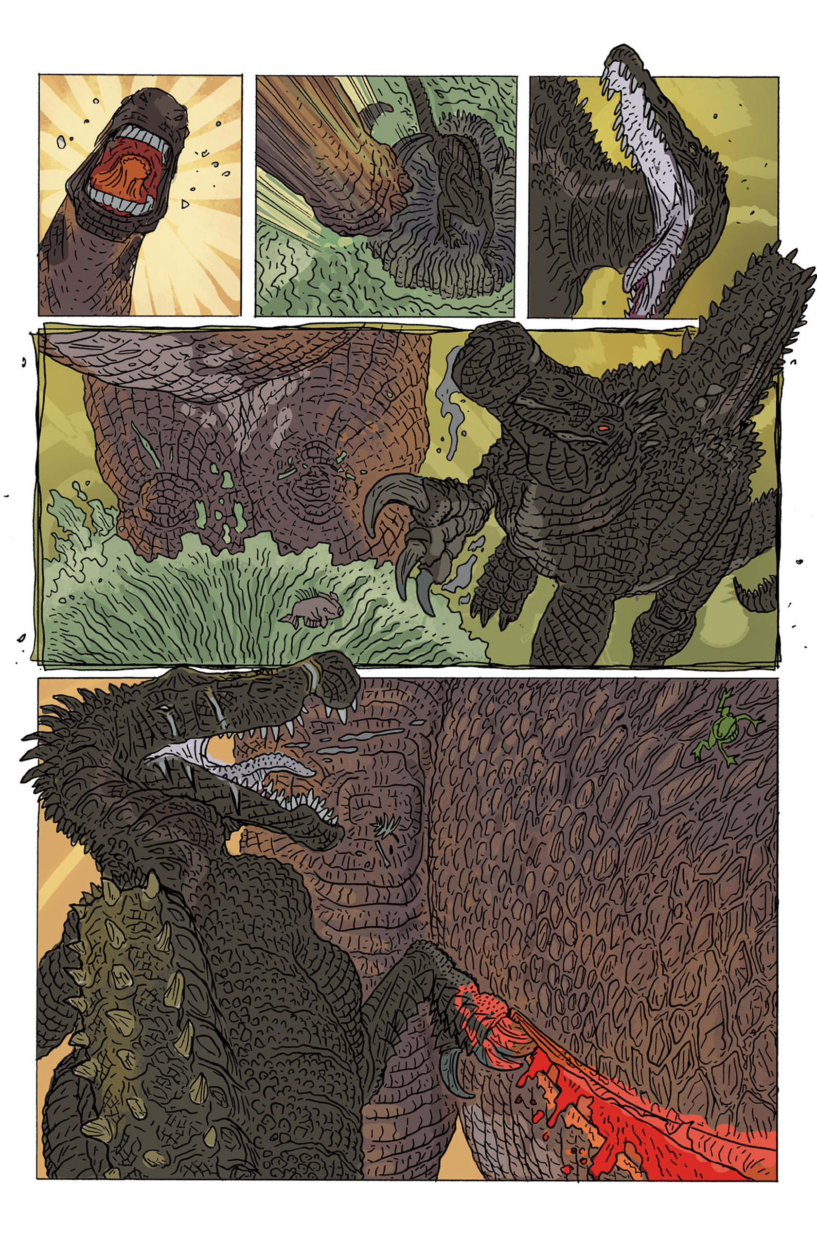 Read online Age of Reptiles: Ancient Egyptians comic -  Issue #4 - 7