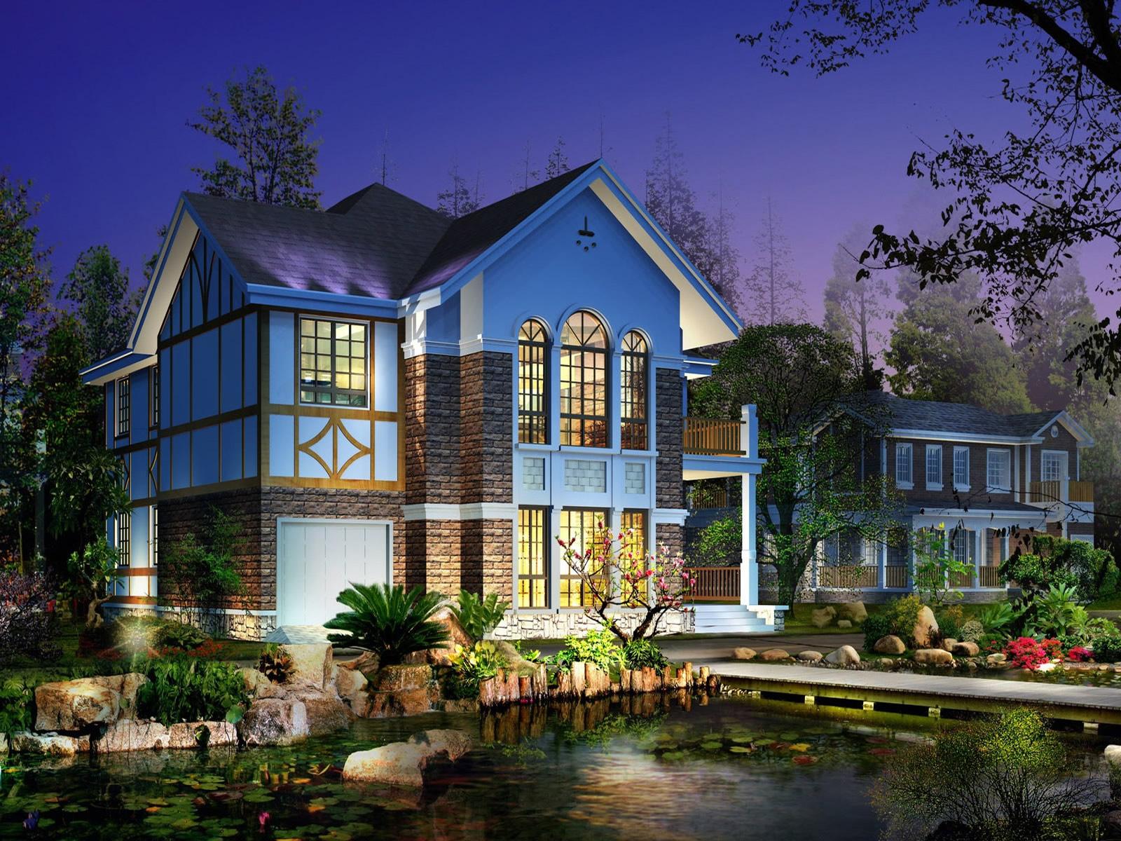 3D House HD Wallpaper | Hd Wallpaper