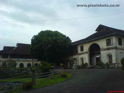 the hill palace front view photograph india cochin