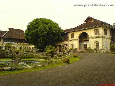 photograph of the old palace of kerala hill palace,palace built by raja of cochin