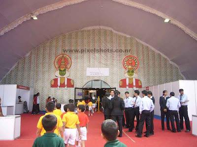 volvo ocean race exhibition hall entrance