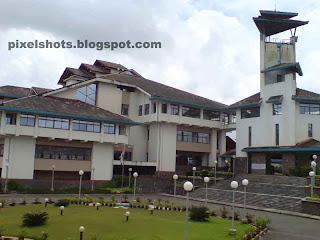 calicut iim main building photograph,photo of indias 5th iim and only iim in kerala