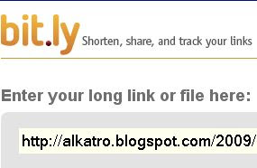 shorten your link with bit.ly
