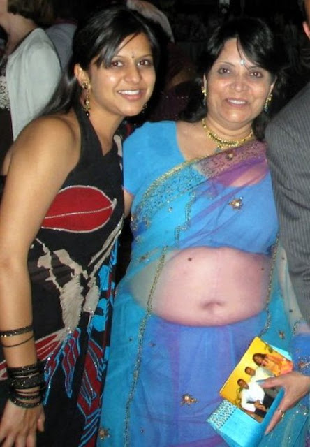 Indian Masala Aunties Navel Gallery Desi Real Life Aged -6034