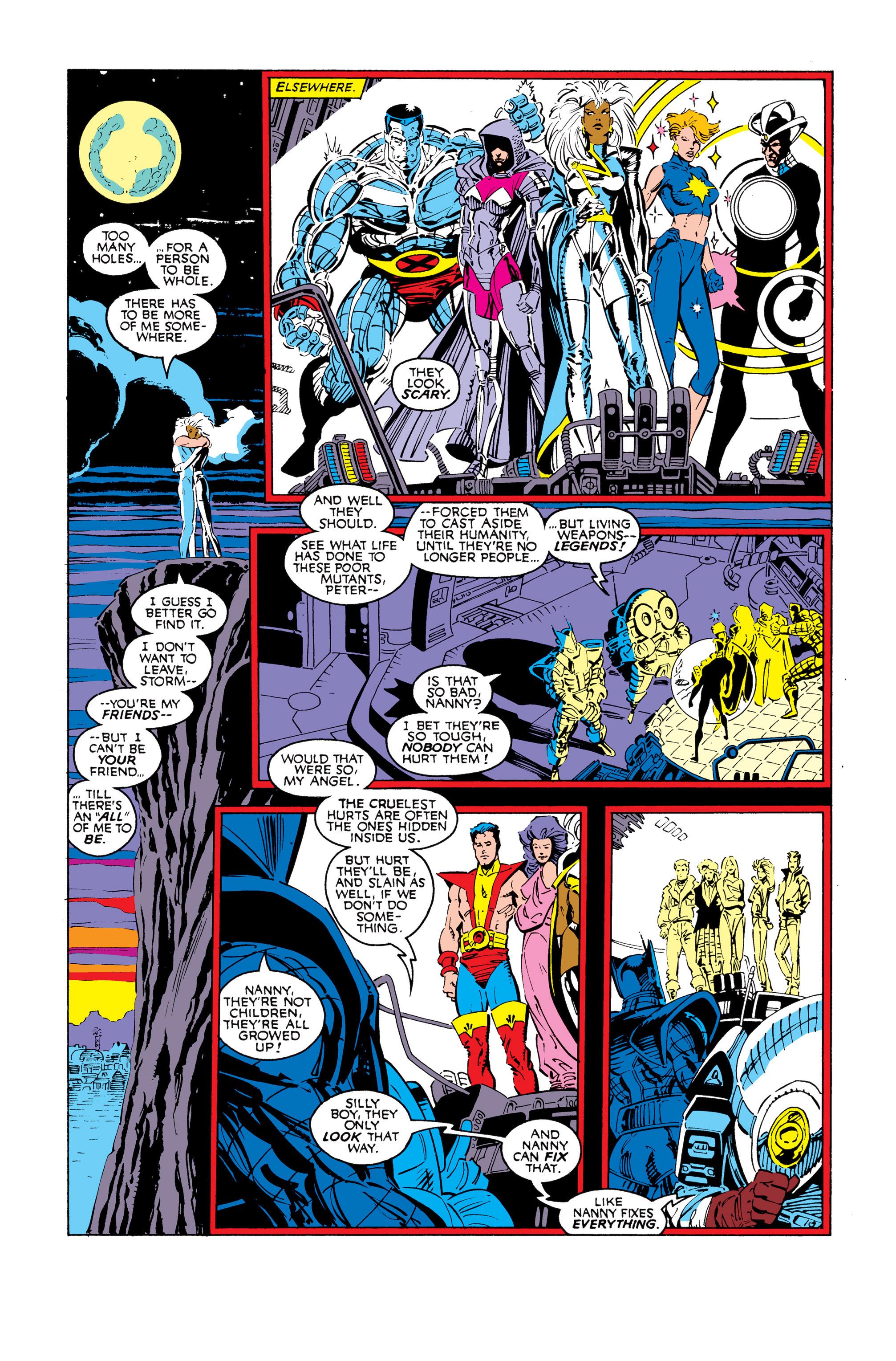 Read online Uncanny X-Men (1963) comic -  Issue #248 - 9