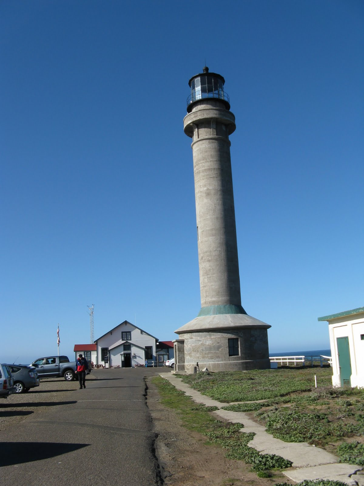 Tarras Travels Point Arena Lighthouse