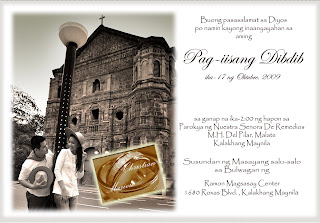 Wedding And Marriage Guide In Manila Tagalog Invitation