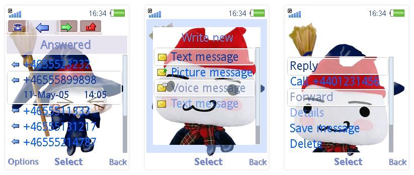 Toro貓SonyEricsson手機主題for Elm/Hazel/Yari/W20﹝240x320﹞ | 索愛の手機主題